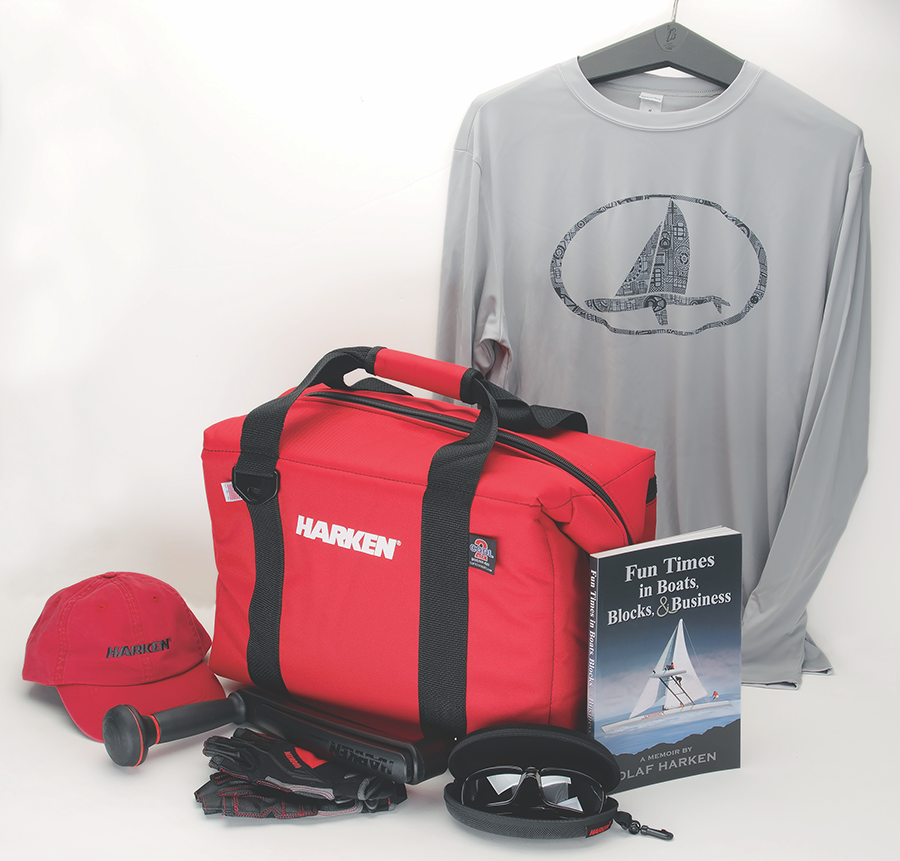 Roll-Top Harken Bag
